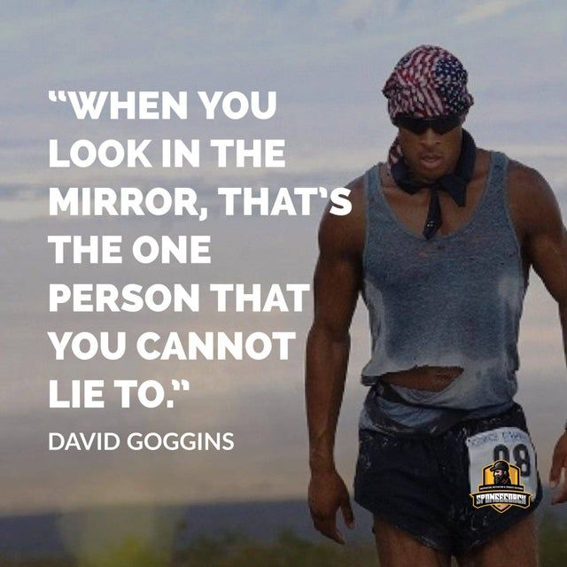 Image The Importance Of Being Truthful With Yourself Getmotivated Goggins Quotes David Goggins Quotes David Goggins