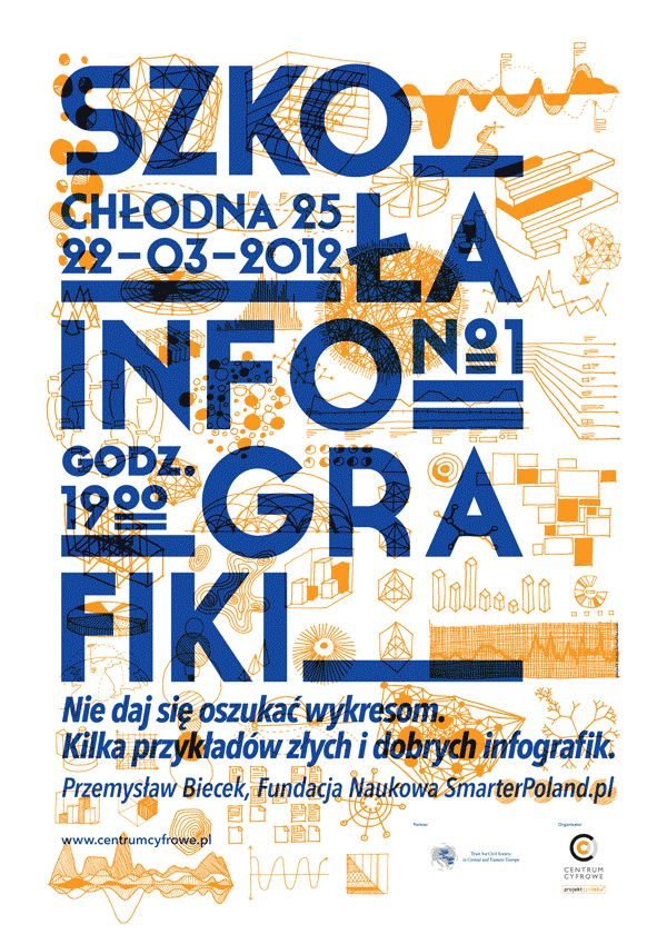 Infographics school by Piotrek Chuchla, via Behance