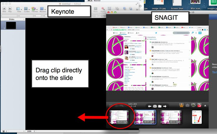 How to have scrolling text in a presentation