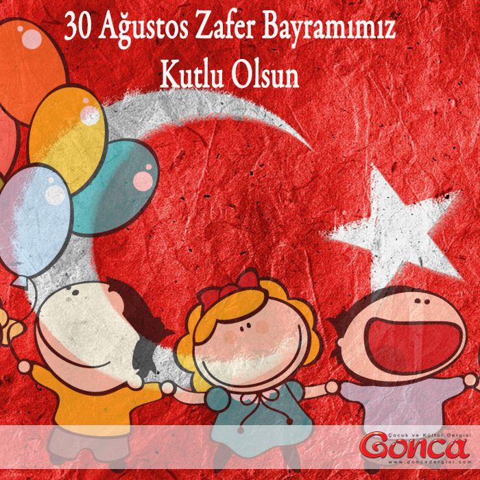 30 Ağustos Zafer Bayramımız Kutlu Olsun… #30 #ağustos #zaferbayramı #cocuk #nese #bayram #ozelgunler #takvim #bayrak #turkiye #zafer #goncadergim #cocukdergisi