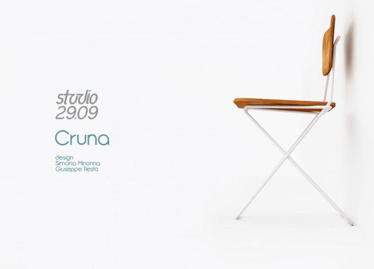 Cruna, tubular chair