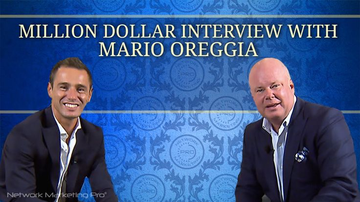 Million Dollar Interview with Mario Oreggia   We have a better way - Eric Worre www.gwtopportunity.com/joanwells
