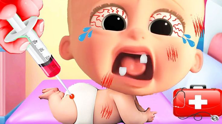 The Boss Baby Care - Baby Boss Doctor Care of Naughty Little Baby Feed B...