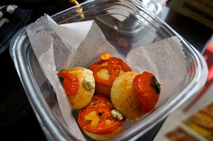 10 great places to eat in New York City: Mini filled bagel balls at Bantam Bagels