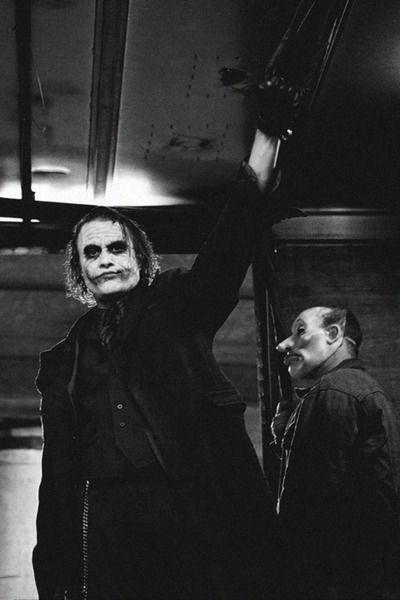 The Dark Knight-Heath Ledger as The Joker