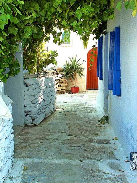 TINOS  Aetofolia village