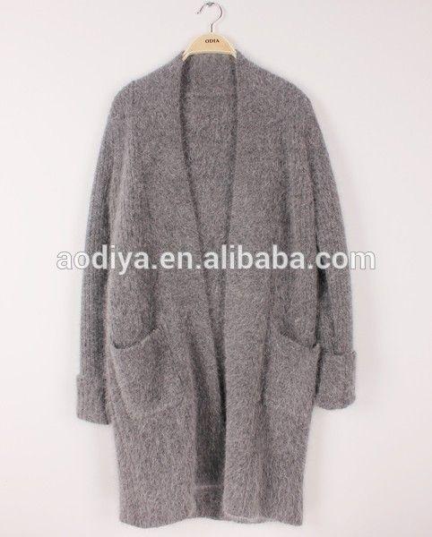 2015 automne hiver , Plus la taille Casual épaissir Long Cardigan Tricot femme tricotés Cardigans pour femmes pull Angora manteaux-image-Pull-Id du produit:60090526145-french.alibaba.com