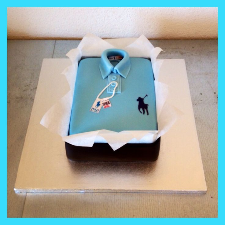 Ralph Lauren polo cake