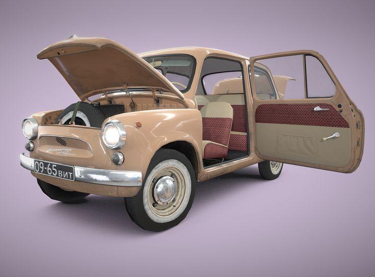 russian retro car 1960