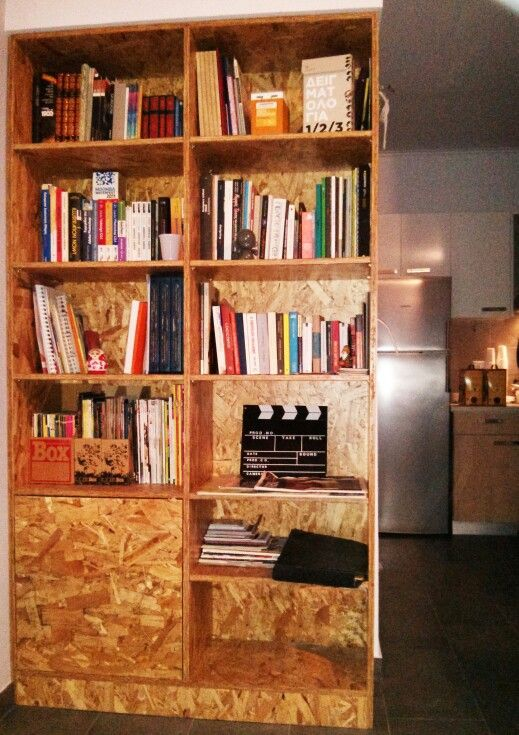 Osb bookcase