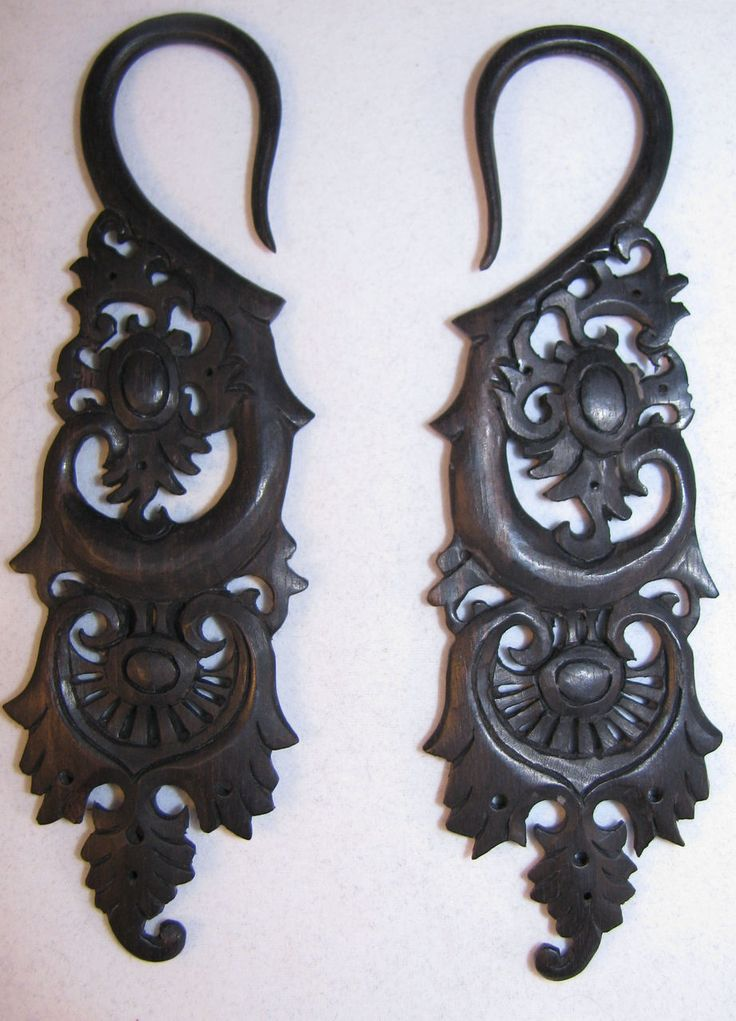 *** THESE EARRINGS ARE MY VERY FIRST CHOICE!!! *** I'd like these in a 00g, which is my goal gauge. $33