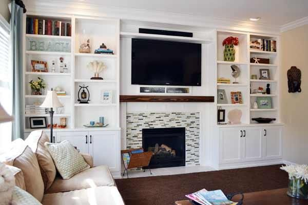 17 best ideas about bookshelves around fireplace on pinterest shelves around fireplace. Black Bedroom Furniture Sets. Home Design Ideas