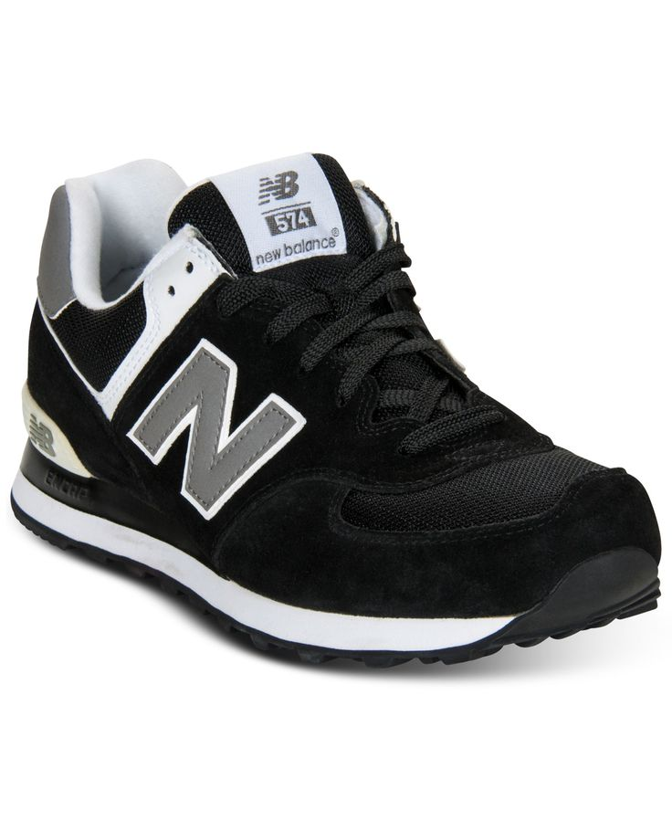 New Balance Men's Shoes, 574 Suede Sneakers from Finish ...