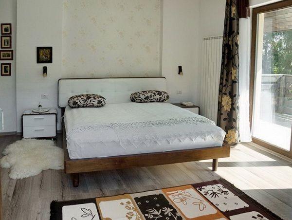 Bran-Predelut vila - dormitor rustic