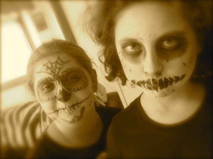 Solo yo: Maquillaje de Fantasma  Makeup Ghost Hallowen : Di...