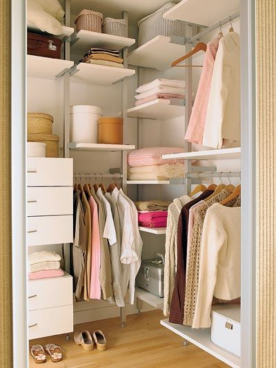 17 best images about ideias de decora o on pinterest for Closet para espacios pequenos