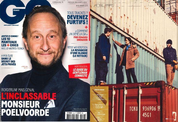Scotch & Soda featured in GQ France | December 2014