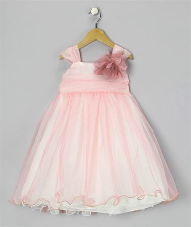 """Πανέμορφο Παιδικό Φόρεμα σε Ροζ και Κρεμ για βάφτιση, Παρανυφάκι, Πάρτι """"Charlotte"""" - www.memoirs.gr"""
