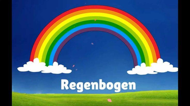 Learning Colors for Kids - German / Deutsch - Farben - HD