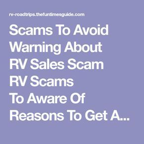 Scams ToAvoid Warning About RVSales Scam RVScams ToAware Of Reasons To Get An RV Inspection About Curtis I've been involved in RVing for over 40 yrs — including camping, building, repairing, and even selling RVs. I've owned, used, and repaired almost every class and style of RV ever made. I do all of my own repair work. My other interests include cooking at home, living with an aging dog, and dealing with diabetic issues. If you can combine a grease monkey with a computer geek, thro...