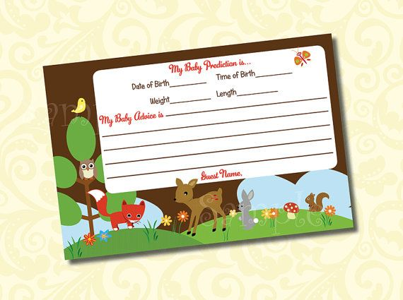 122 best woodland forest animal baby shower images on pinterest, Baby shower invitations