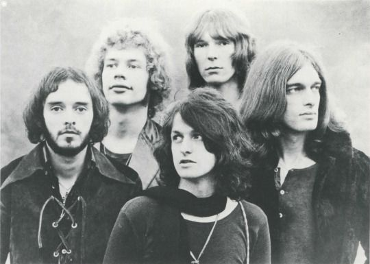 The Groovy Archives- Prog-Rock band Yes, 1970.