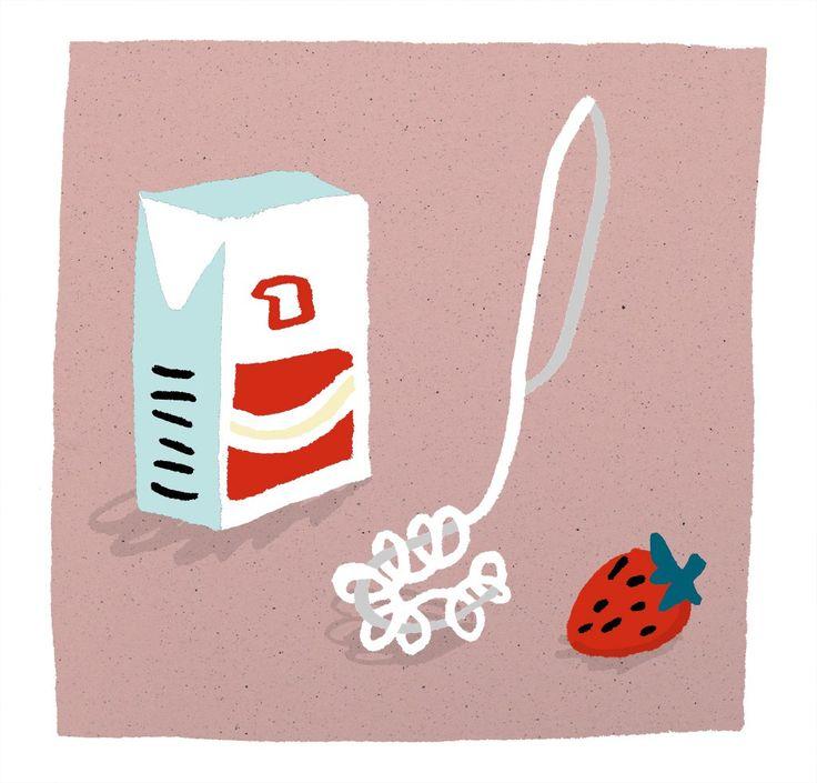 Whip & strawberries