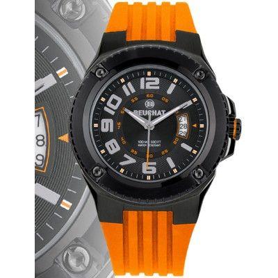 #montre_homme #watches #sport #eau #water #etanche #quartz #yellow #jaune #polyurethane