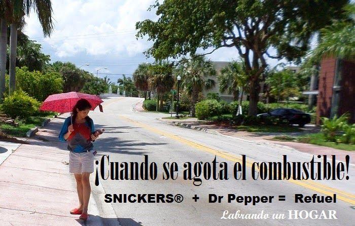 Busca tu cupón compra  SNICKERS® y Dr Pepper y participa en el sorteo con Walmart mientras recargas energía #Refuel2Go #shop #cbias