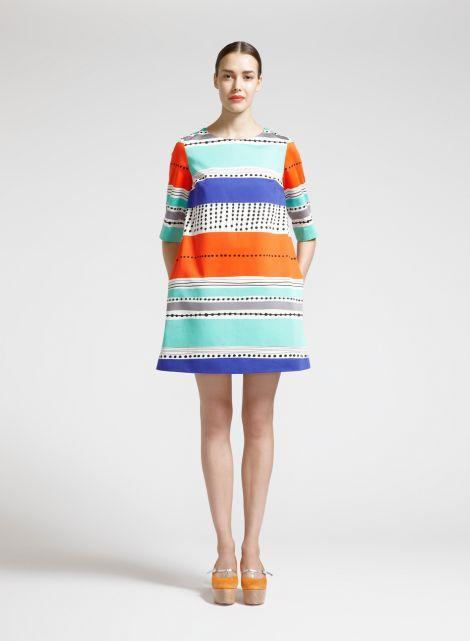 Bamba dress (white, red, blue) |Clothing, Women, Dresses & skirts | Marimekko