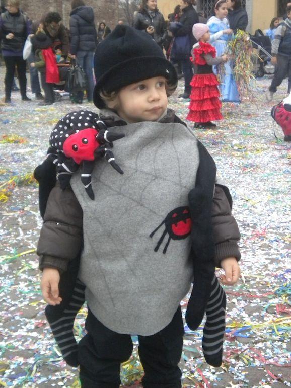 Costume da ragno.  Autrice Serena