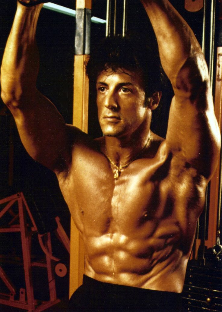 Sylvester Stallone's Arm Workout