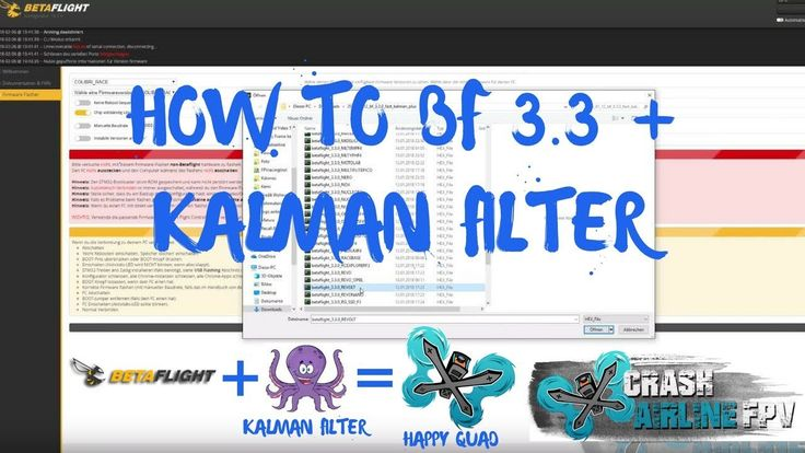 How to install Kalman Filter and Betaflight 3.3 | Setup - flash - maiden | Revolt F4 it's been a long time since we made a how to video. this time we'll show you how to install a variant of Betaflight (pre-release) or beta with this one that has Kalman filter enabled currently it looks like Betaflight 3.3 will be shipped with Biquad  FIR2 but we like how our Kalman build flys and feels on the stick. Maiden Flight Starts on 4:38 on 1:46 we but in the CLI Commands from RCgroups post! What is…
