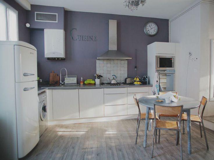 74 best couleur mur cuisine images on Pinterest Kitchen white