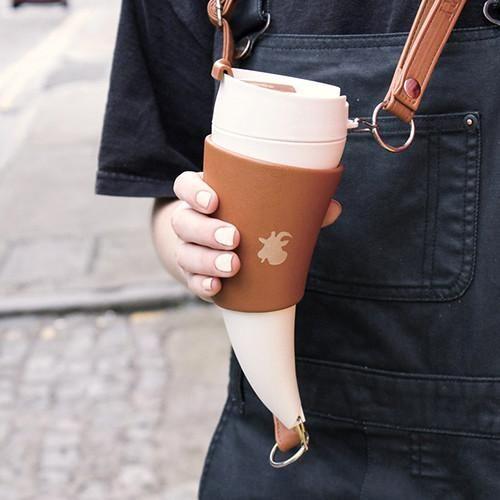 Goat Mug Portable Coffee Holder - Goat Story - Do Shop