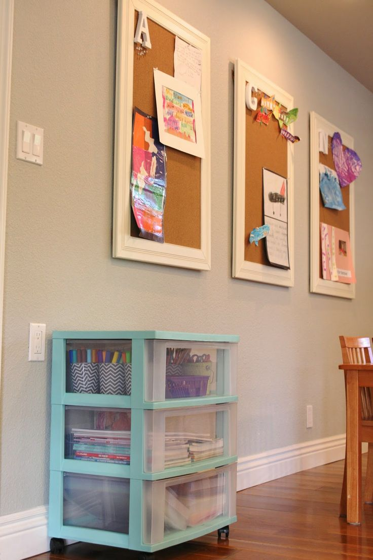 simply organized: Organized Kids Art Supplies with Astrobrights Papers + A Giveaway!