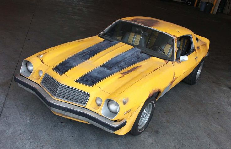 """Transformers"" 1976 Camaro ""Bumblebee"""