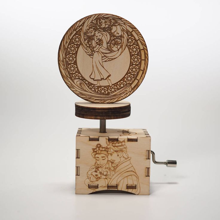 Today's new listing is a must have, trust us we know best ;)  #etsy shop: Tangled Music Box - When Will My Life Begin -Laser cut and laser engraved wood music box. Perfect gift, memorabilia or collectible http://etsy.me/2Cqm7H5 #collectibles #personalized #wood #music