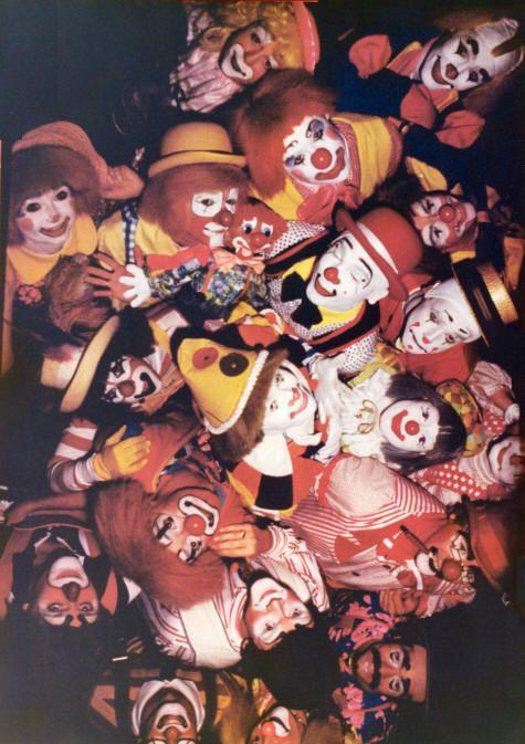 Clown College photos / Circus world photos