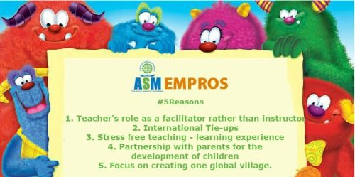 For Admissions: http://www.asmgroup.edu.in/empros/  #preshool #pune