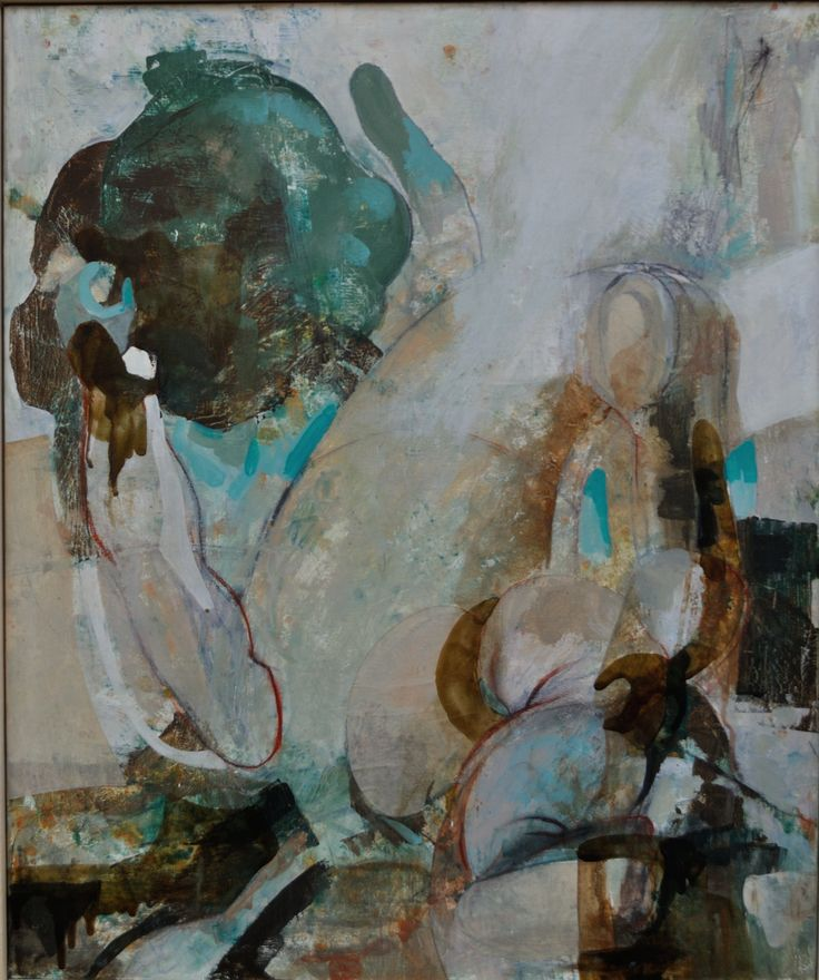 Diletta Boni 2016 - Untitled - Mixed media on canvas - 60x50cm