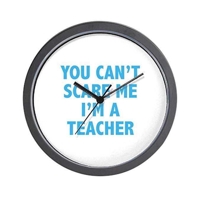 The Most Hilarious Classroom Clocks You Can Find On Amazon Classroom Clock Clock Bored Teachers