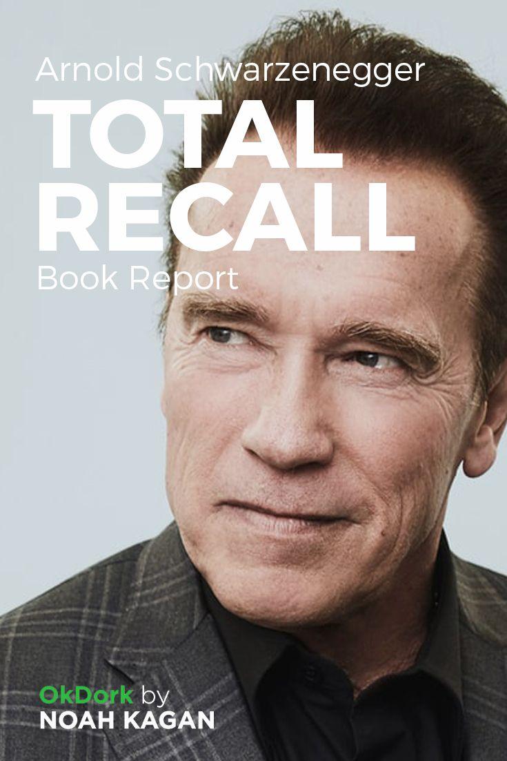 Arnold Schwarzenegger's Total Recall #book report #noahkagan