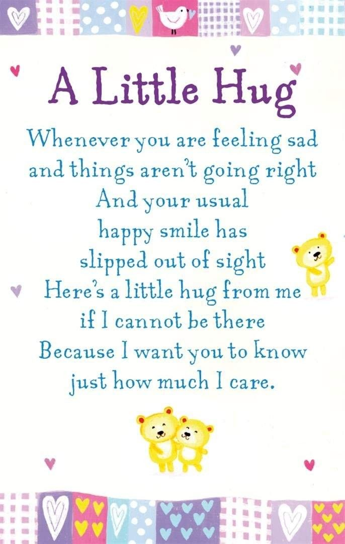 Pin By Maribeth Enloe On Hugs Kisses Get Well Hug Quotes Special Friend Quotes Sending Hugs Quotes