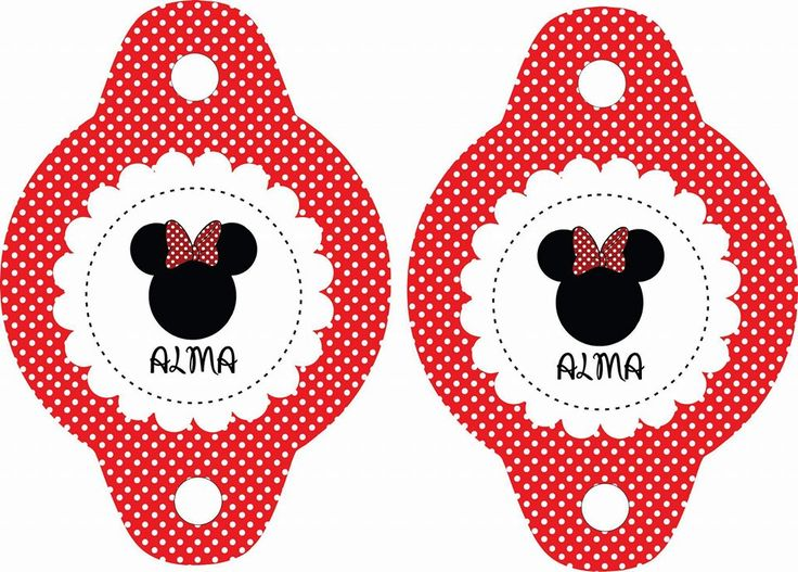 #PortaSorbetes #Minnie #Roja #Disney #Cumple #Birthday #Cumpleaños