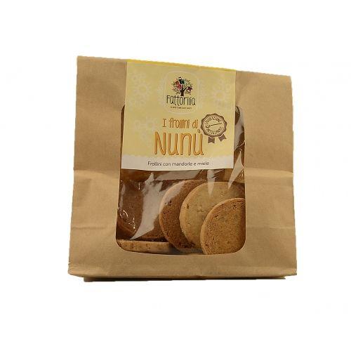 I frollini di Nunù al miele e mandorle €3,50  http://www.nelsonsicily.com/dettaglio/frollini-di-nunu-miele-e-mandorle