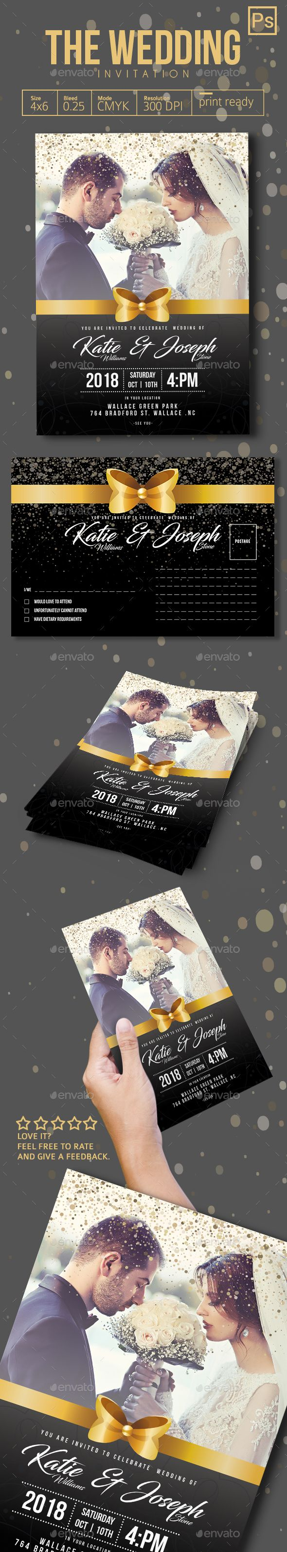 The Wedding Invitation  PLEASE DOWNLOAD HERE !!! https://graphicriver.net/user/tiaga/portfolio