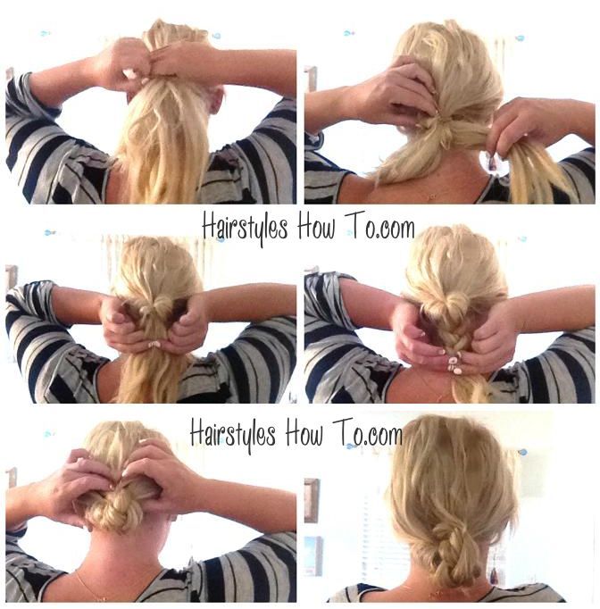 Easy Diy Bun Hairstyles: 792 Best Hair Tutorials Images On Pinterest