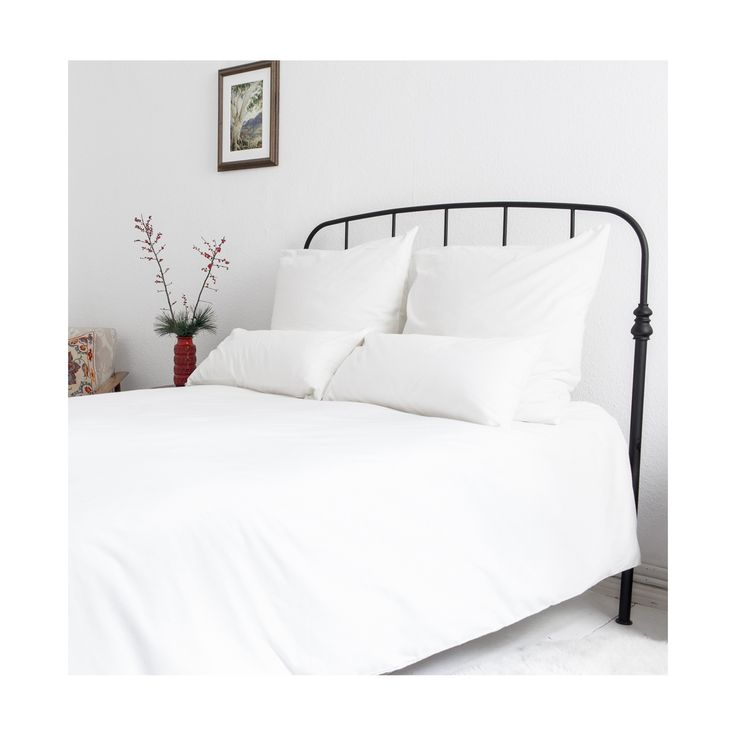 White flanell sheets for double bed <3