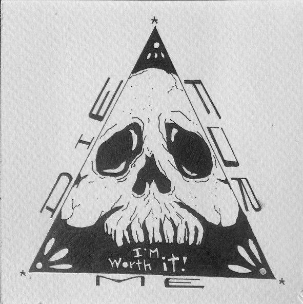 Die for me / tinta sobre papel
